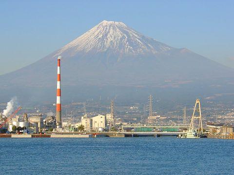 富士山百景「田子の浦港西」